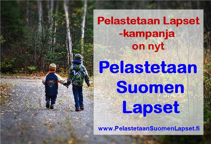Lääkäreiden kampanjan uudeksi nimeksi Pelastetaan Suomen Lapset